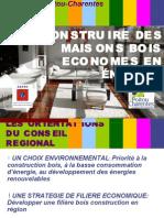 Construire des maisons bois économes en énergie
