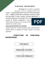 PARCHASE DPTMNT.doc