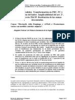 RICCIARDI-RTI Transformación en PBU