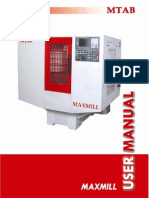 Maxmill - Fanuc Manual