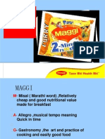 68980142 35876401 Demand Analysis on Chosen Product Maggi