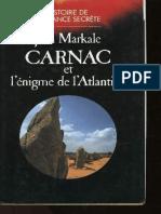 Carnac Ou l Enigme de l Atlantide