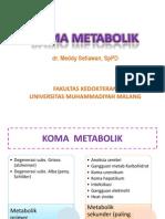 Koma Metabolik - Revisi
