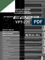 Piano Yamaha YPT 220 ESP