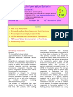 Drug Information Bulletin 31 05