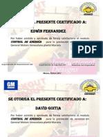 Certificados de Control de Energia