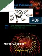 9r Jeff Jiang Military Robots -New