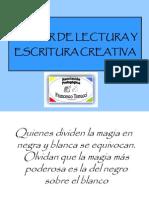 Taller de Lectura y Escritura Creativa