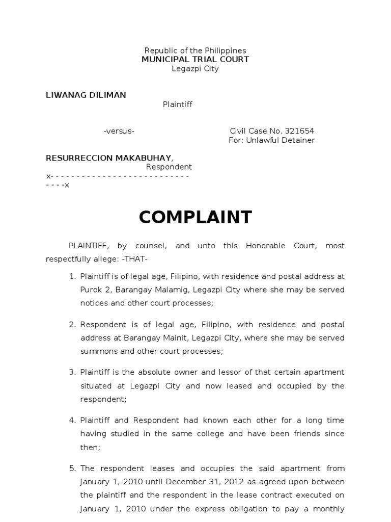 the case of a complaining Case of the complaining customerpresented by group 1 isha arora namita gupta rohit kulshestra soumitra kandpal vaibhav gupta yogesh sehgal.