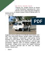 Angkutan Umum Kota Banda Aceh