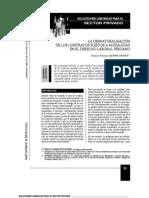 Desnaturalización contratos-Quispe