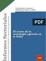 Estudio Tecnologia Agraria INDIA