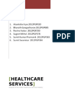 HealthCare Industry Analysis