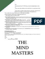 John F. Rosmann - The Mind Masters 01 - The Mind Masters