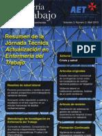 Enfermería del Trabajo, volumen 3, número 2, 2013