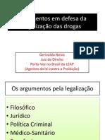 Argumentos em defesa da legalização