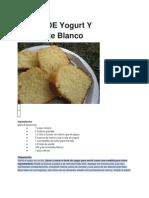 TORTA DE YOGURT Y CHOC.BLANCO