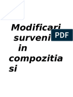 Modificari in Compoz. T.frigului