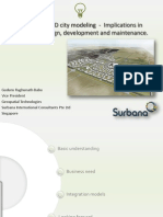 Semantical 3D City Modeling