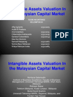 Intangible Assets Valuation in the Malaysian Capital Market
