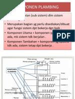 (c). Komponen Plambing