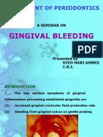 Gingival Bleeding