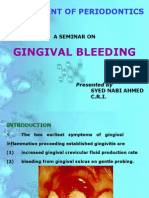 Gingival Bleeding