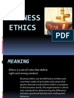 37716730 Business Ethics Ppt Final