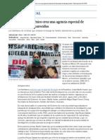 El Gobierno de México crea una agencia especial de búsqueda de desaparecidos _ Internacional _ EL PAÍS