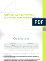 Authorization, Authentication, And Security