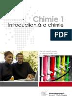 Introduction a La Chimie