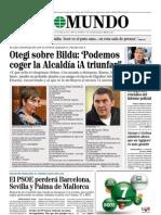 El Mundo 27 28 29 de Abril 2011