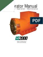 LEROY SOMER - Generator Manual