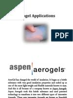 Aerogel Applications