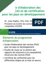 Programme d'élaboration des normes IPSAS et de certification pour les pays en développement