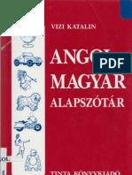 Vizi Katalin - Angol-Magyar Alapszotar