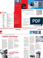 Toshiba e Studio163 203 165 205 Printer Brochure