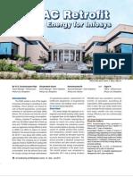 Saving Energy Hvac Retrofits