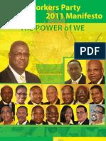 UWP Manifesto 2011