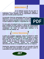 Guía para Organizar y Constituir CPHS