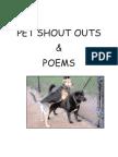 Pet Shout Outs