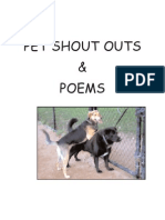 Pet Shout Outs