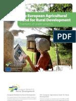 Fondul agricol european pentru dezvoltare rurala