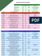 disa 2013-2013 calendar