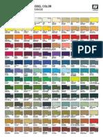 Carta Modelcolor Rev01