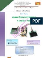PFE monnayeur electronique à carte à puce