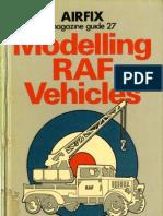 Airfix Magazine Guide 27 Modelling RAF Vehicles