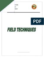 Field Techniques