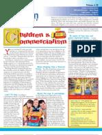 Freedom Debt Relief- Children & Commercialism