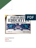 trabajo psicología educacional